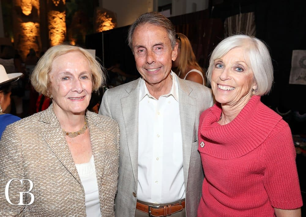Anne Otterson with George and MaryBeth Guimaraes