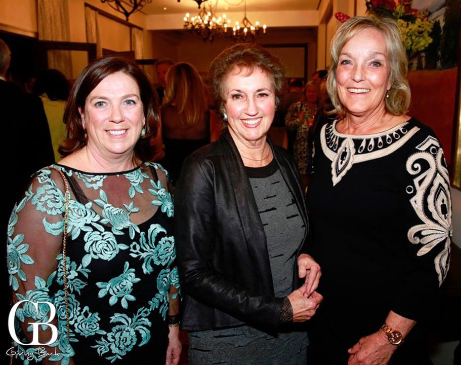 Annette Bradbury  Carolyn Bolyne and Cindy Wollaeger