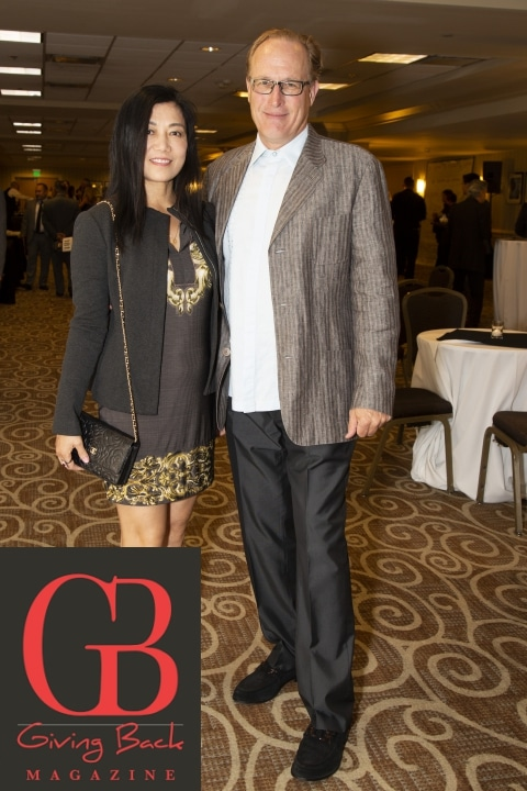 Annie Wang and Robert Gish