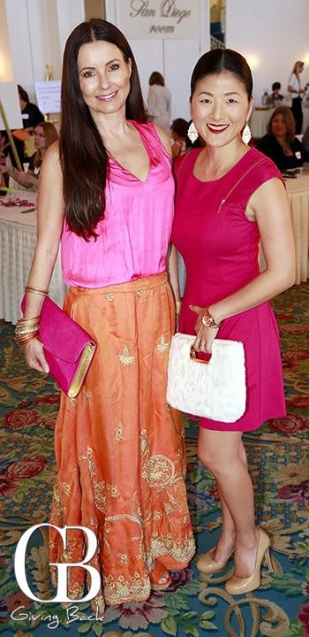 Annika Kovtun and Susan Barrera