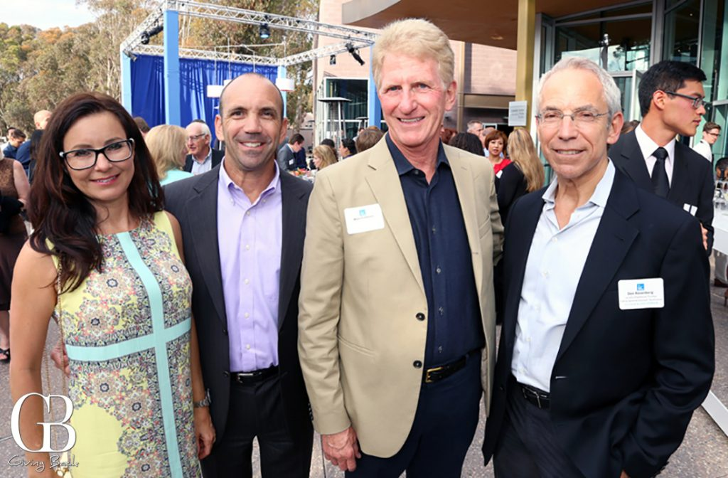 Annika and Gordon Kovtun with Wayne Fishburn and Don Rosenberg
