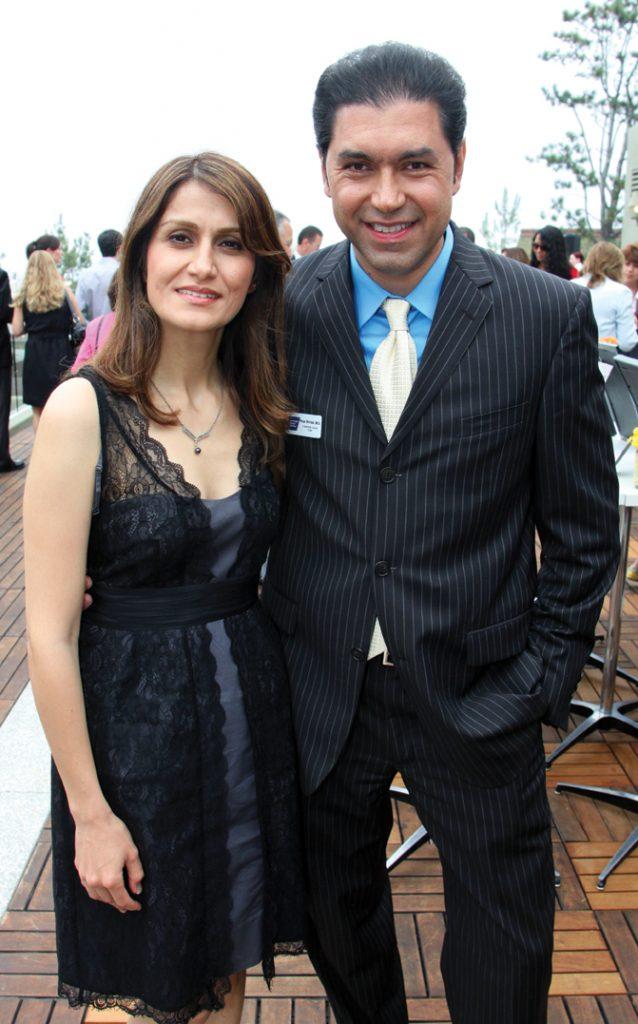Anoosha Ghodsi Shirazi and Reza Shirazi.JPG