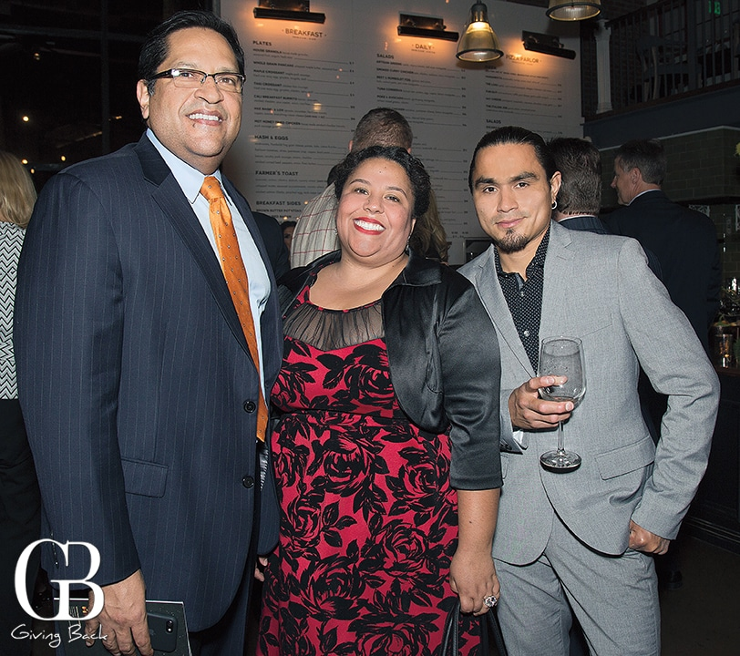 Anthony Llompart  Lidia Rivera and Wilson Pacheco