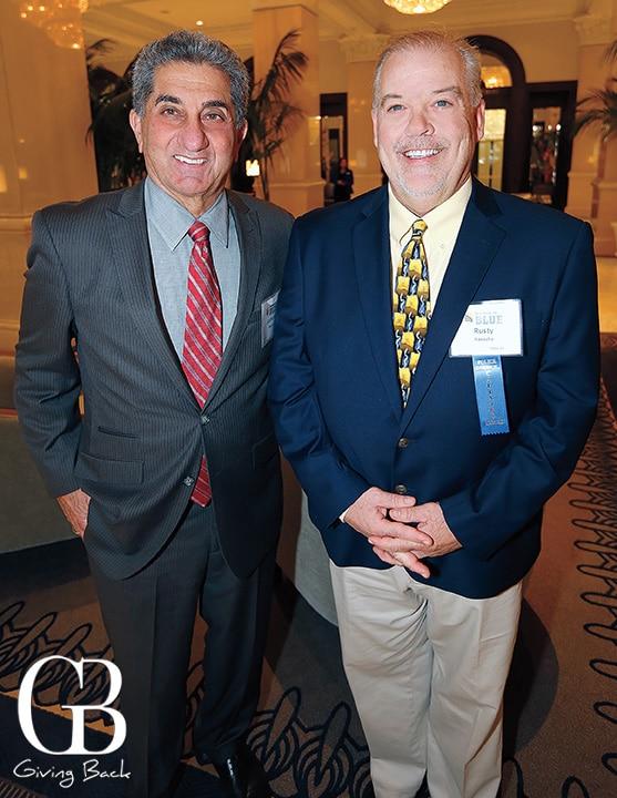 Anthony Napoli and Rusty Haesche