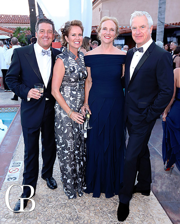 Anthony and Bridget Musante with June and Mark Fabiani
