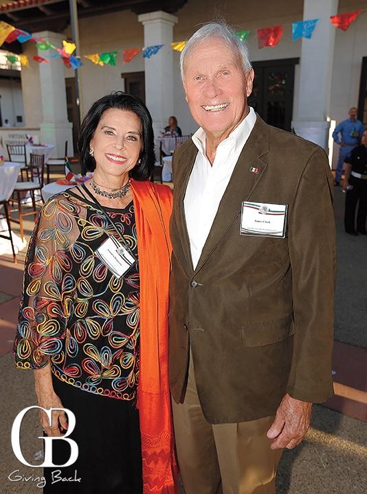 Antonieta Beguerisse and James Clark
