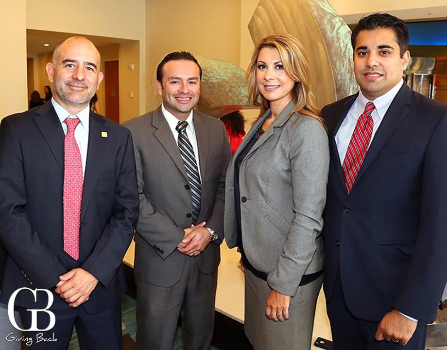 Antonio Barbosa  Luis Gonzalez  Gabriela Mello and Martin Sanchez of Wells Fargo