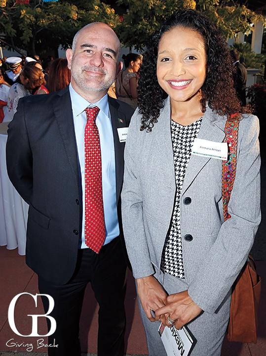 Antonio Barbosa and Xiomara Arroyo