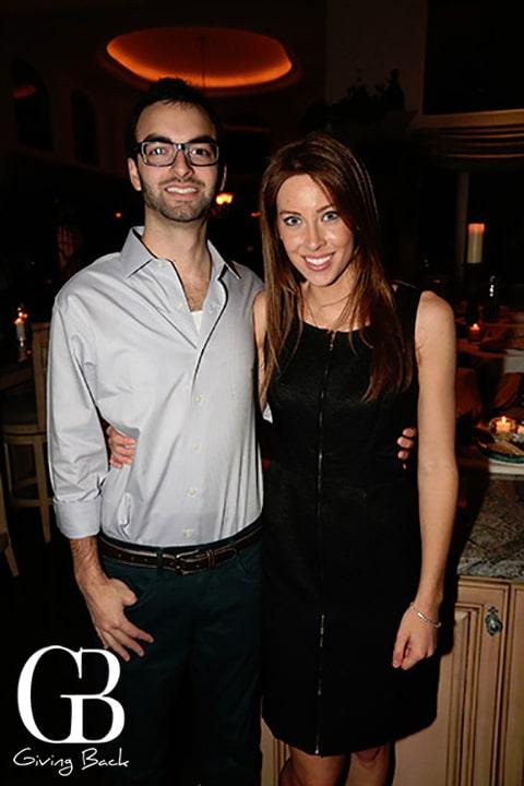 Arash Memarzadeh and Amanda Medulla