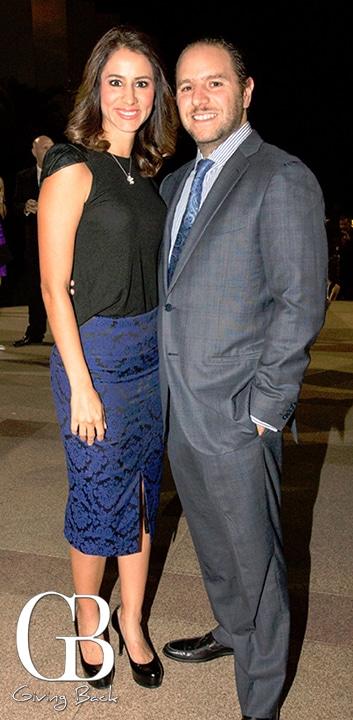 Ariana and Gustavo Bravo