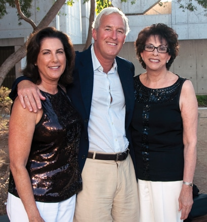 Arielle Ford, Brian Hilliard and Sheila Fuerst