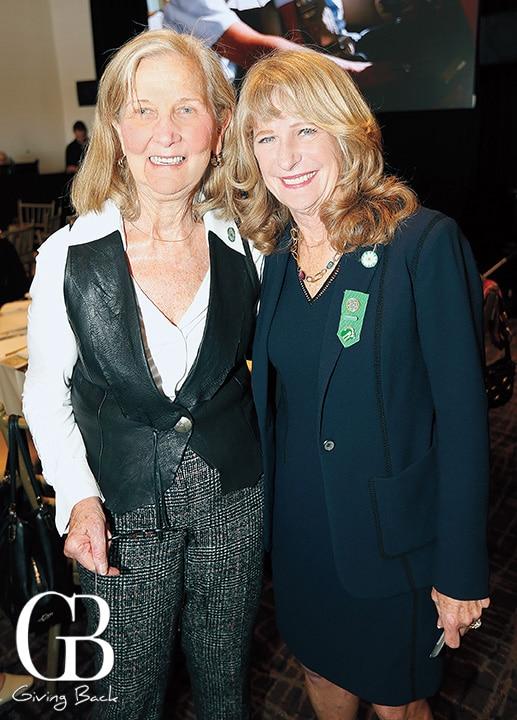 Arlene Harris and Sue Major