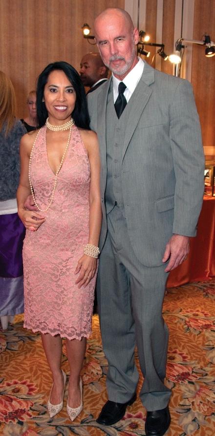 Arna Hope and Scott Williams
