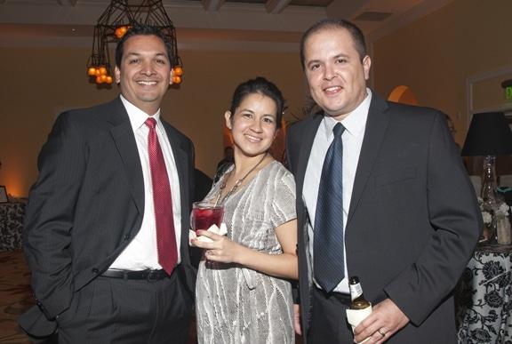 Arnulfo Manriquez with Lily and Gerardo Godinez