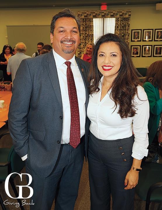 Arnulfo Manriquez and Alondra Alvarado