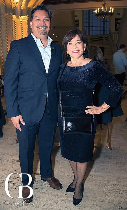 Arnulfo Manriquez and Mayor Mary Casillas Salas