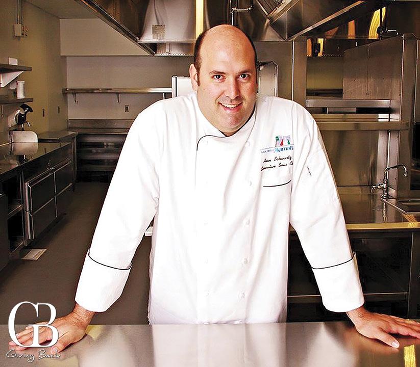 Aron Schwartz of Marina Kitchen