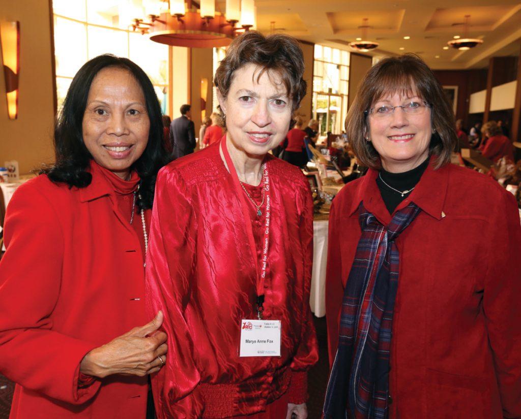 Artie Evertz, Marye Anne Fox and Patty Arnett.JPG