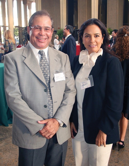 Arturo Sanchez and Gabriela Solis.JPG