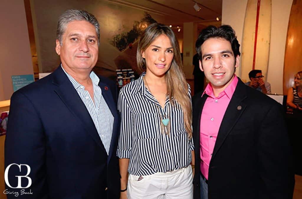 Arturo Gutierrez  Ana Fernanda Ortiz y Walter Padilla