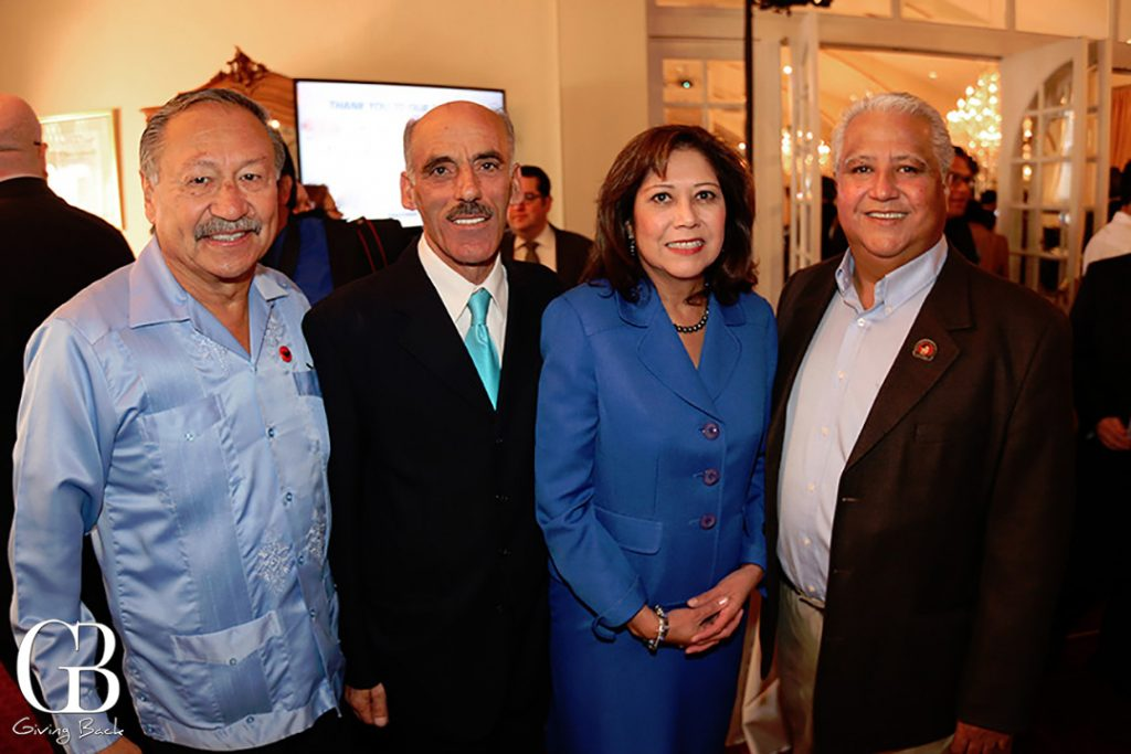 Arturo Rodriguez  Sam Sayyad  Hilda Solis and Paul Chavez