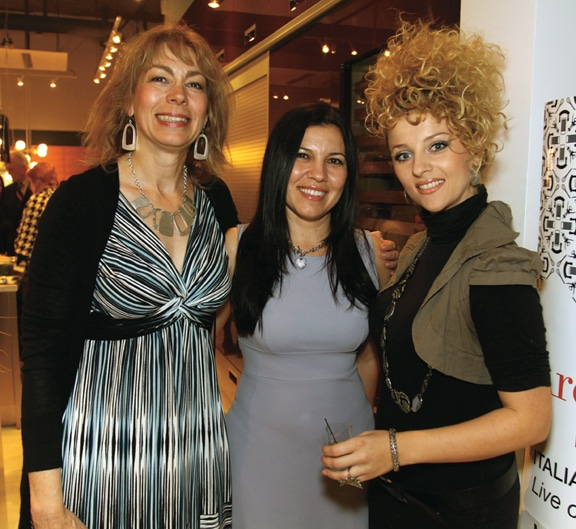 Asha Parker, Fernanda Lima and Katerina Milovanoski.JPG