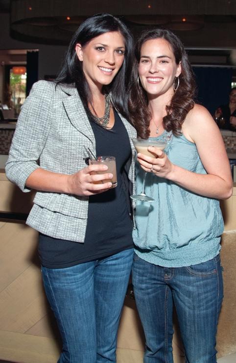 Ashley Morello and Megan Eigner