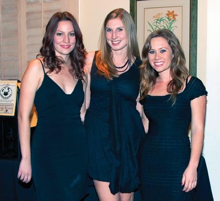 Ashley O'Leary, Trisha Weinberg and Brittany Sake