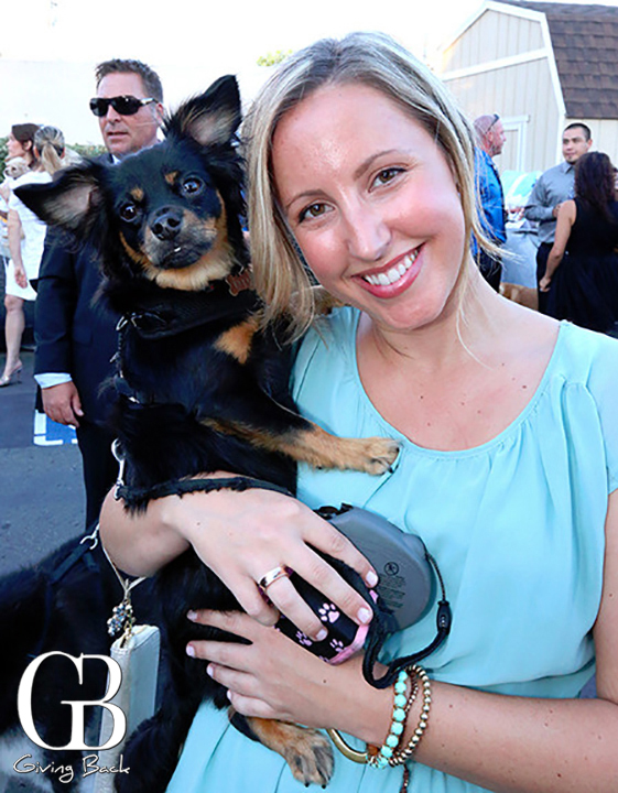 Ashley Gerson with Roo