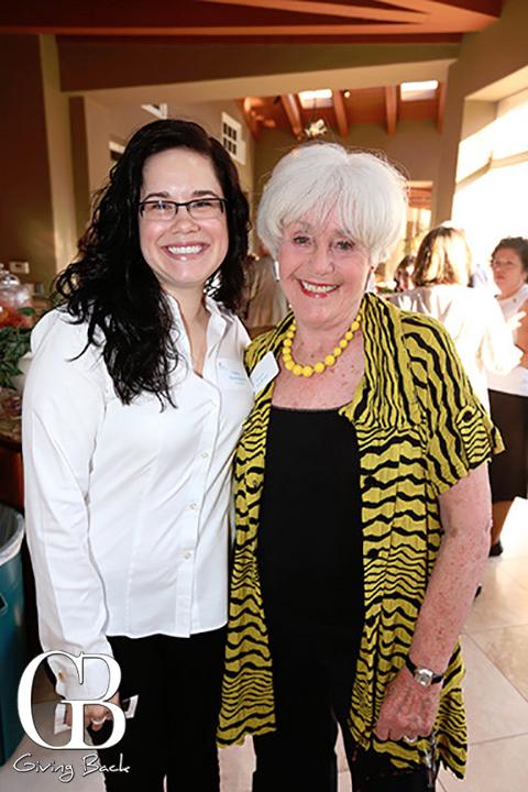 Ashley Harrington and Joyce Axelrod