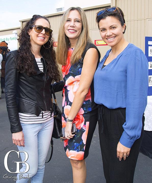 Ashley Shapiro  Carmen Gastelum and Tati Santiago