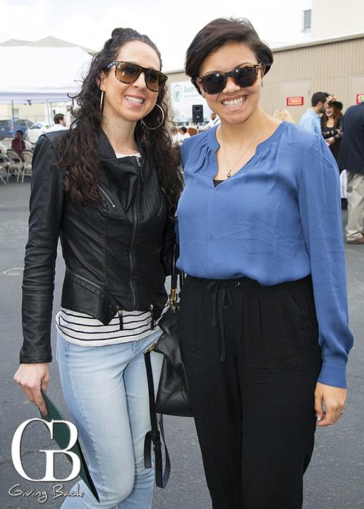 Ashley Shapiro and Tati Santiago