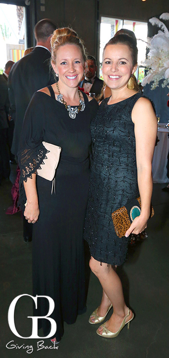 Ashlyn Carter and Sarah Feeley