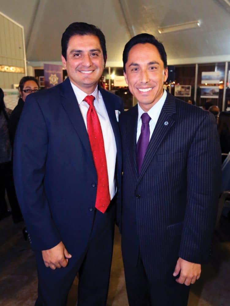 Assemblyman Ben Hueso and Councilmember Todd Gloria.JPG