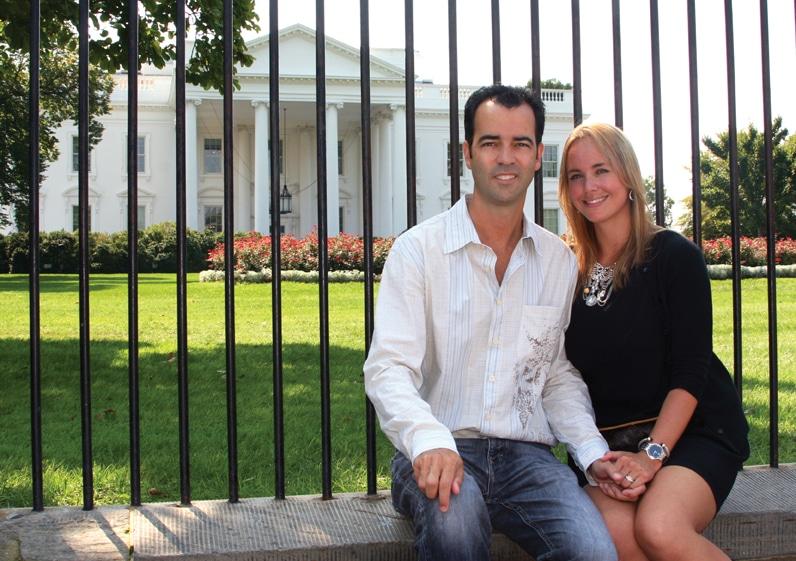 At the White House.JPG