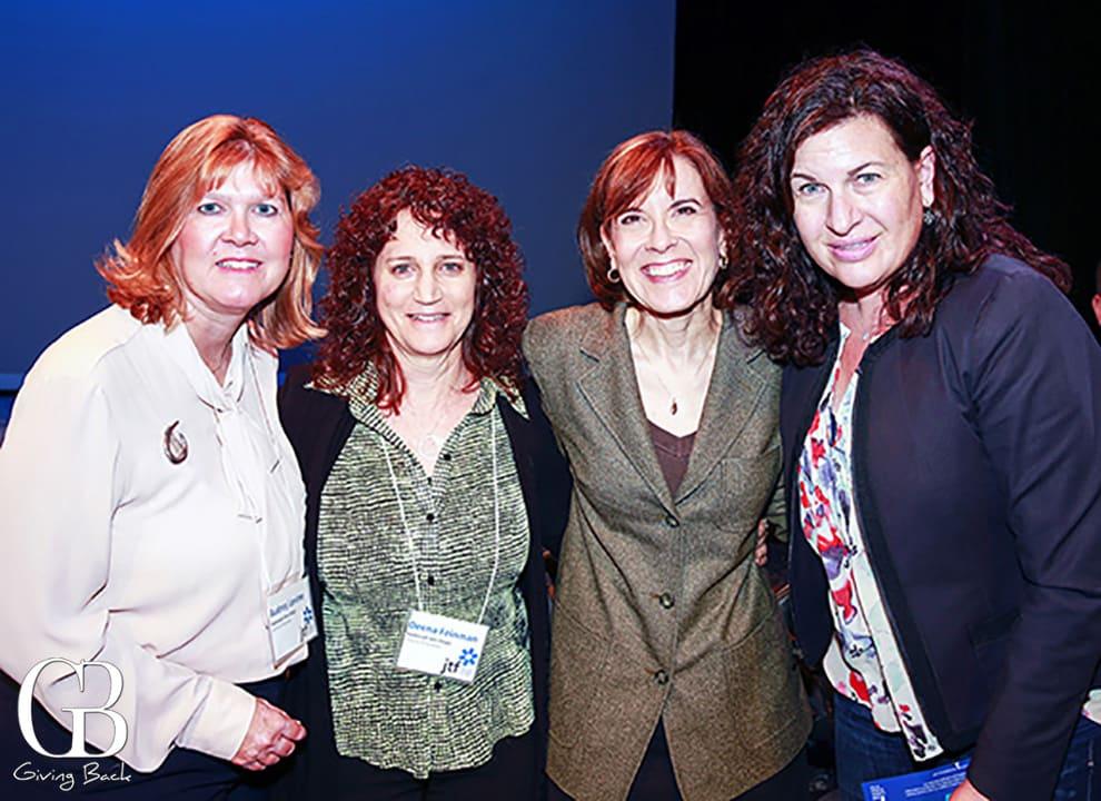Audrey Levine  Deena Feinman  Sharyn Goodson and Claudia Ehrlich