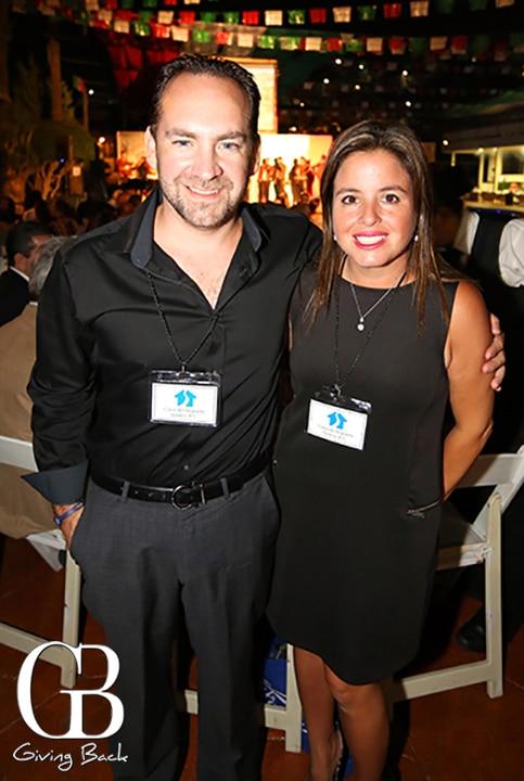 Augustin y Ana Laura Velasquez