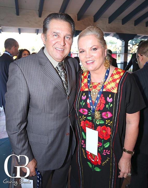 Aurelio Peralta and Lilia Larin