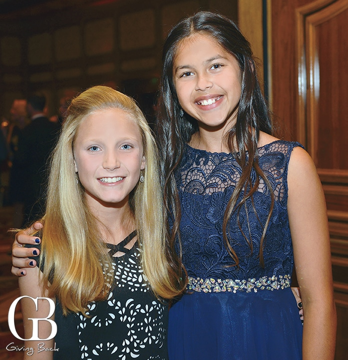 Avery Cormier and Camille Samarasinghe