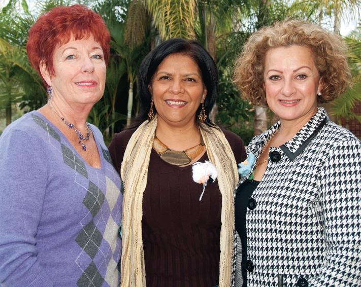 Barbara Barker, Judy Carrillo and Sandra Armendariz