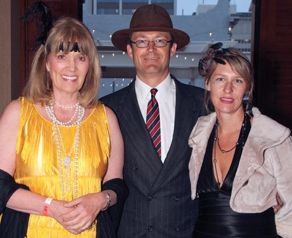 Barbara Coad with Tim and Janna Jackson