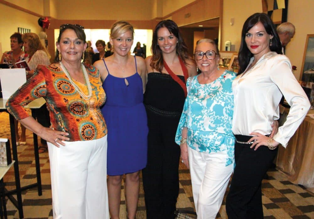 Barbara Colbrese with Erica, Holly and Pat Whalen and Ashley Ferreira.JPG