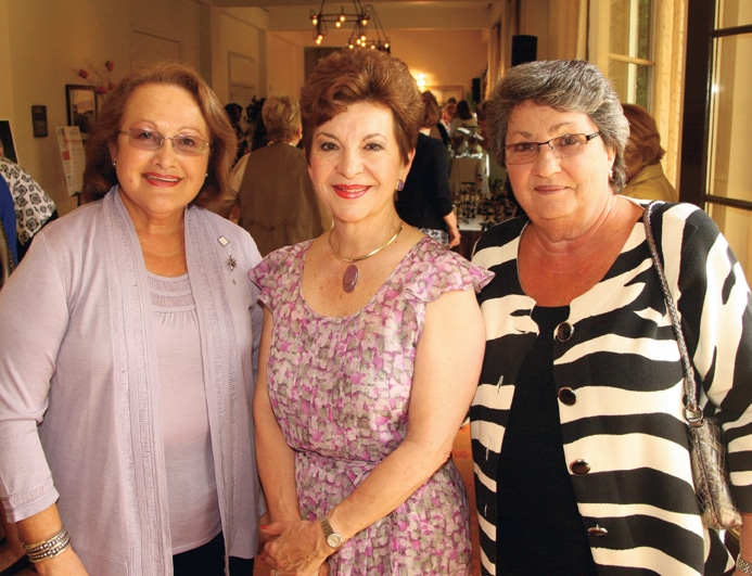 Barbara Fischbein, Diana Lombrozo and Elaine Chortek +.JPG