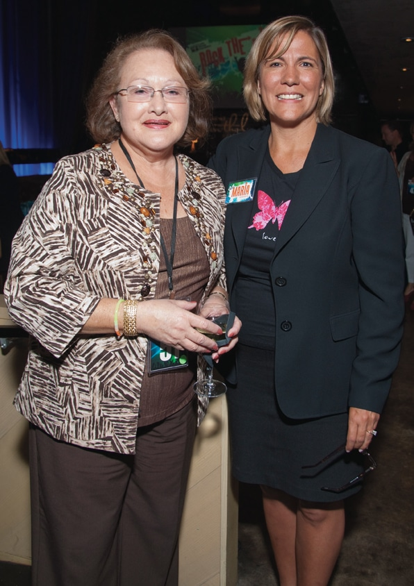 Barbara Fischbein and Maria Olson ++