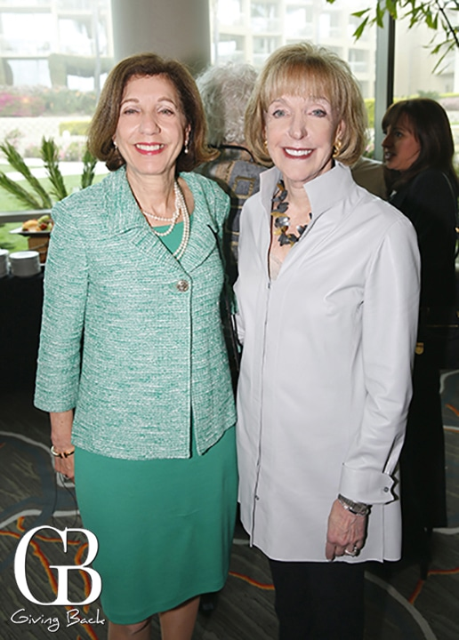 Barbara Bry and Andrea Oster