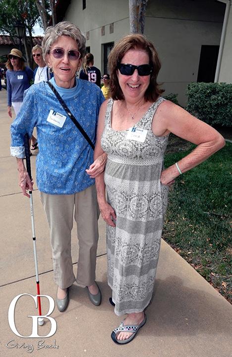 Barbara Kimberlin and Dana Grey