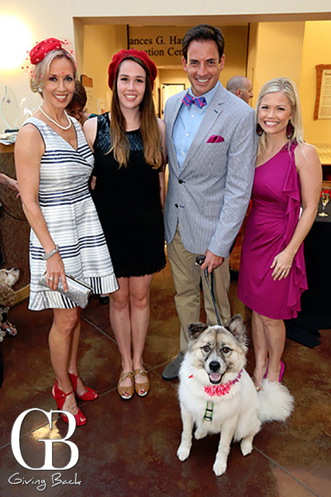 Barbara Lee Edwards  Kirsten Walz  Dan and Paige Cohen with Gracie Bear