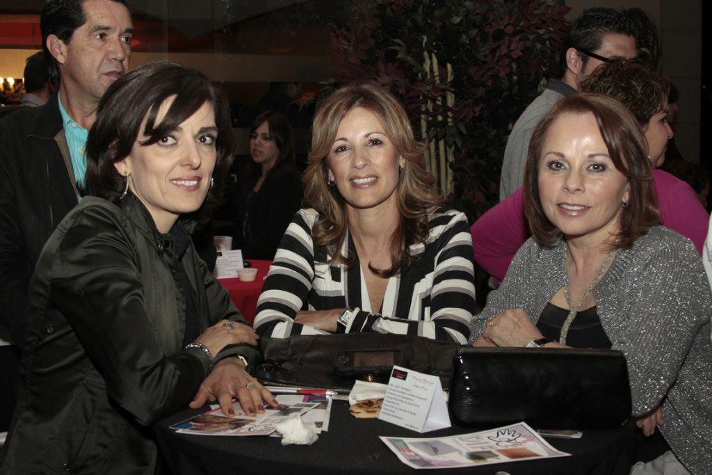 Beatriz Lagos, Karla Carranco y Cacilia De La Concha