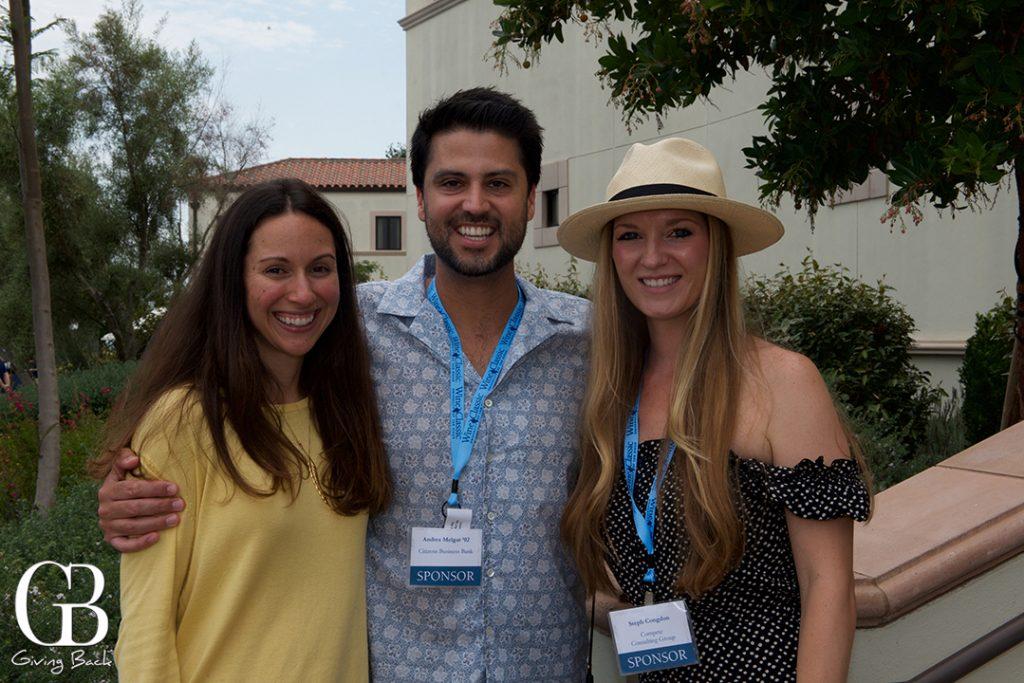 Becca Beville  Andres Melgar and Stephanie Congdon
