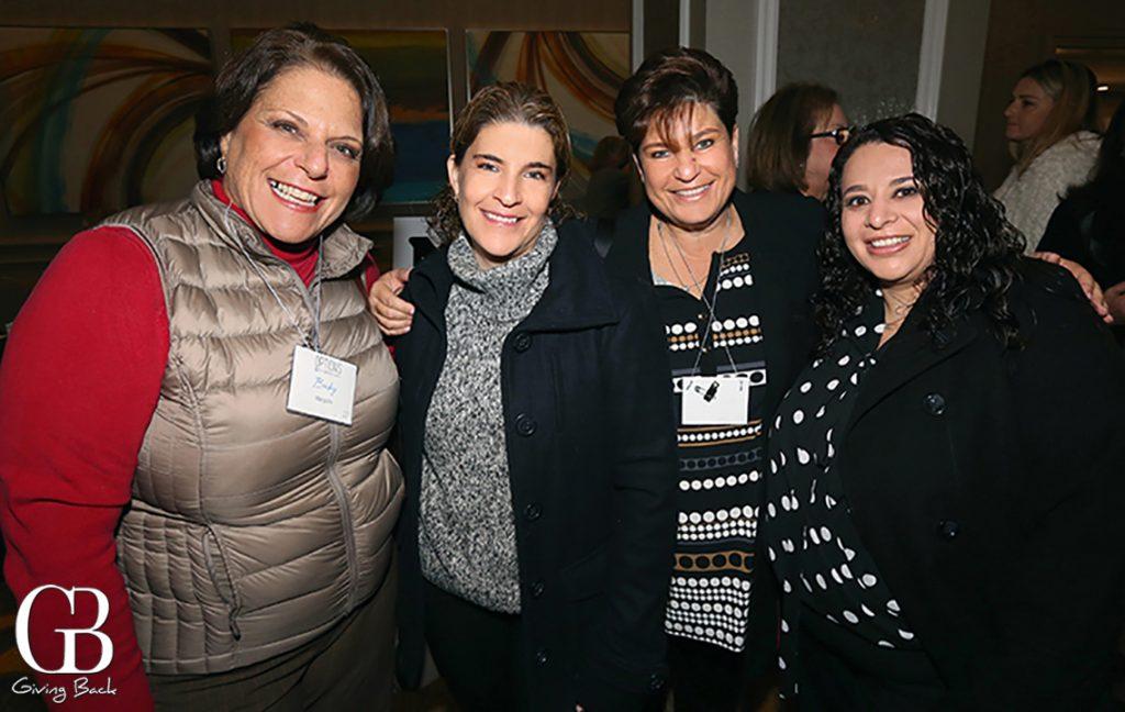 Beckie Margiolis Maggie Obadia  Sarita Feldman and Lyliann Penhos